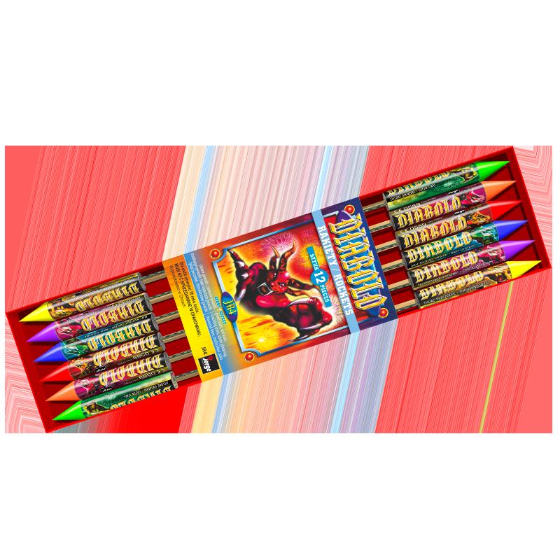 Diabolo Raketen