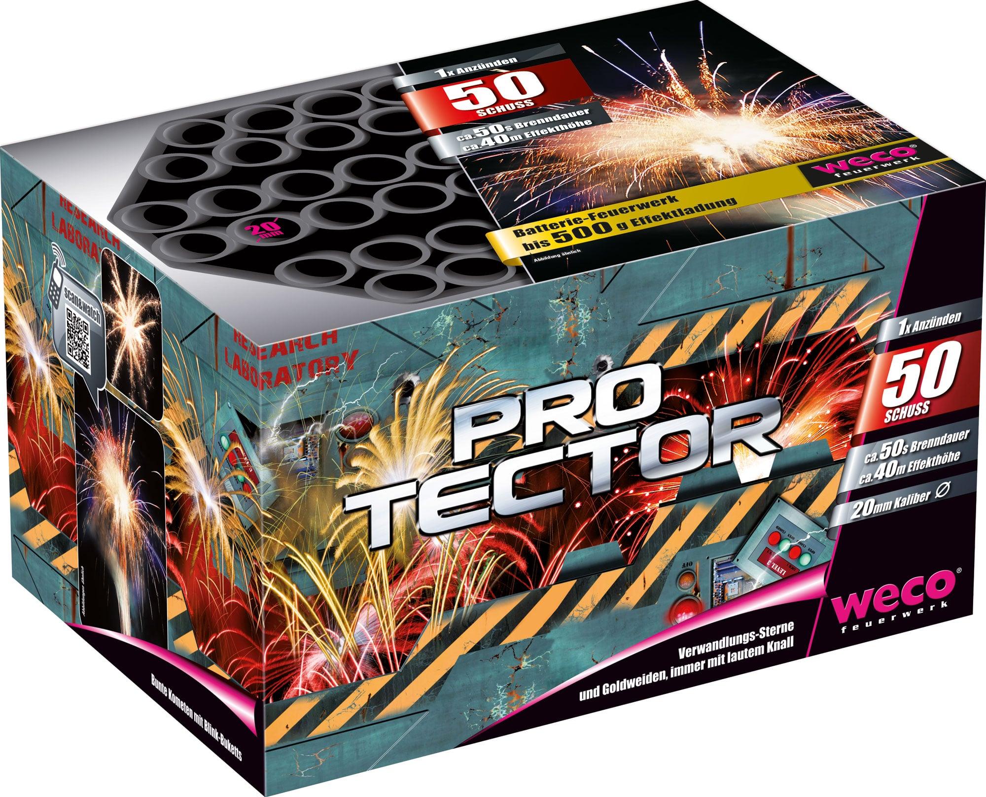 Pro Tector 50 Schuss