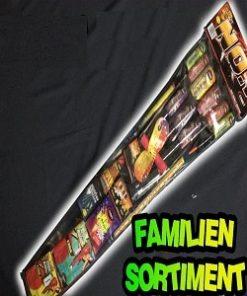Familien Feuerwerk